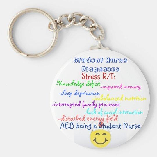 Student Nurse Dx Key Ring