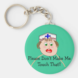 Student Nurse Hilarious Gifts Key Ring