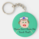 Student Nurse Hilarious Gifts Keychains