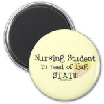 Student Nurse in need of Hug Stat! Magnets