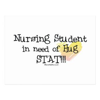 Student Nurse in need of Hug Stat! Postcards