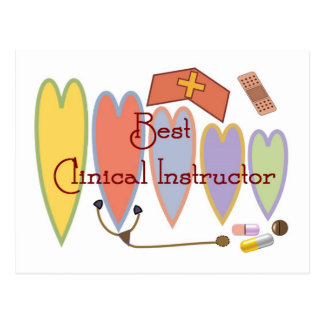 Student Nurse Instructor gifts Post Card