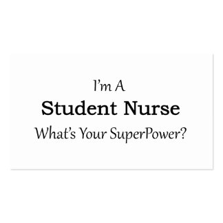 Student Nurse Pack Of Standard Business Cards
