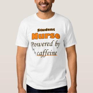 Student Nurse Powered by caffeine T Shirt