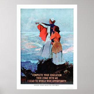 Student Nurse Recruiting (US00312) Poster