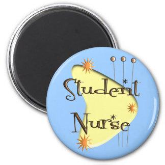 Student Nurse Retro Style Design Gifts 6 Cm Round Magnet