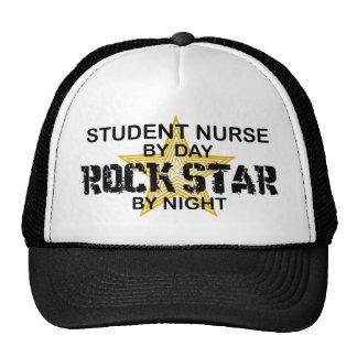 Student Nurse Rock Star by Night Trucker Hat