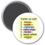 Student Nurse To Do List Fridge Magnet