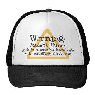 Student Nurse Warning Cap