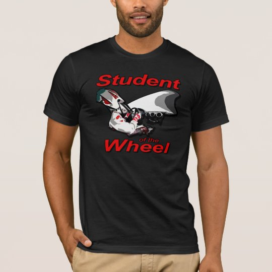 Student of the Wheel (Red Graphic) T-Shirt