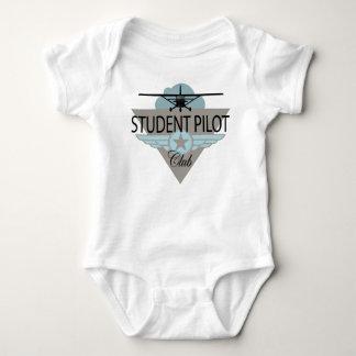 Student Pilot Club Baby Bodysuit