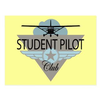 Student Pilot Club Post Card