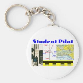 Student Pilot Key Ring