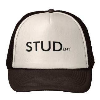 STUDent Slogan Cap Hat (All Colours)