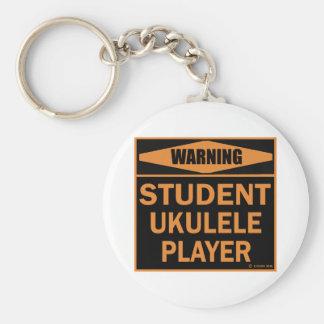 Student Ukulele Player Key Chains
