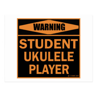 Student Ukulele Player Postcard