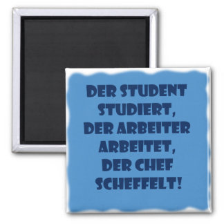 Student, worker and boss magnet