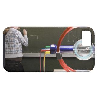 Student writing on blackboard tough iPhone 5 case