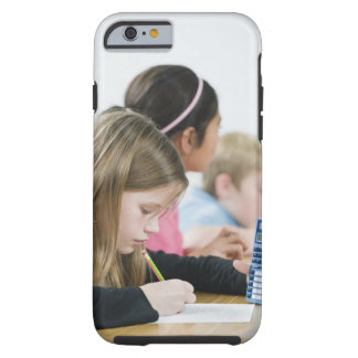 Students doing math work in classroom tough iPhone 6 case