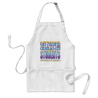 Students Hate Face Standard Apron