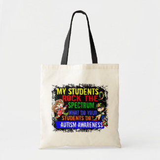 Students Rock The Spectrum Autism Tote Bag