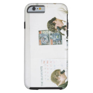 Students with Microscopes Tough iPhone 6 Case