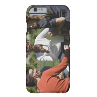 Students with professor barely there iPhone 6 case