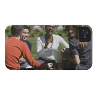 Students with professor Case-Mate iPhone 4 cases