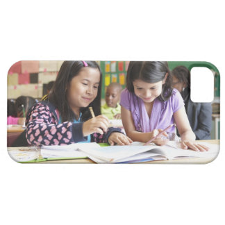 Students working together in classroom case for the iPhone 5