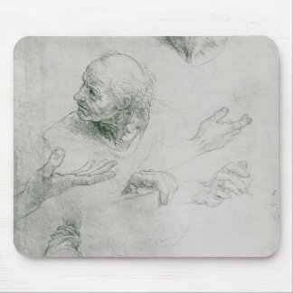 Studies for the Figure of Bramante Mouse Pad