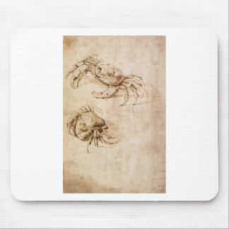 Studies of crabs by Leonardo da Vinci Mouse Pad