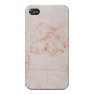 Studies of heads, 1508-12d covers for iPhone 4
