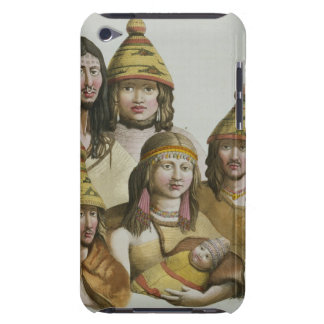 Studies of native Americans (colour litho) iPod Touch Case