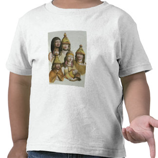 Studies of native Americans (colour litho) Shirt