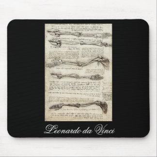Studies of the Arm by Leonardo Da Vinci c. 1510 Mouse Pad