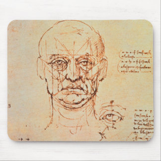 Studies of the Proportions of the Face and Eye, 14 Mouse Pad
