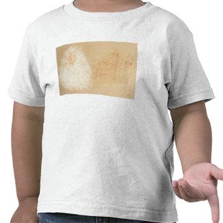Studies of Women (chalk on paper) T-shirts