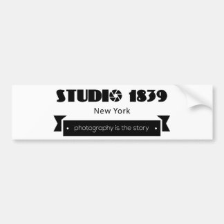 Studio 1839 Photography is the Story Bumper Sticker