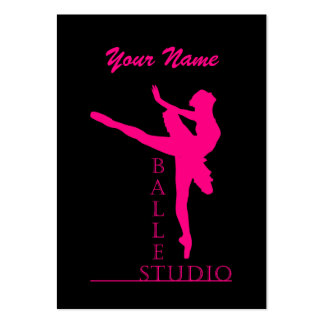 Studio Ballet - Business-, Schedule Card Pack Of Chubby Business Cards