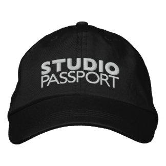 STUDIO PASSPORT LOGO EMBROIDERED HAT