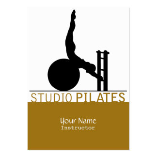 Studio Pilates - Business, Schedule Card Pack Of Chubby Business Cards