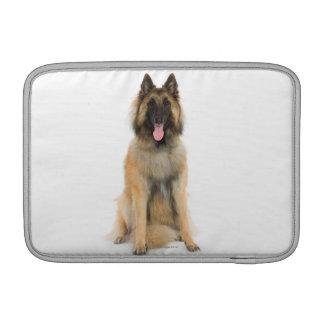 Studio portrait of Belgian shepherd dog Sleeve For MacBook Air