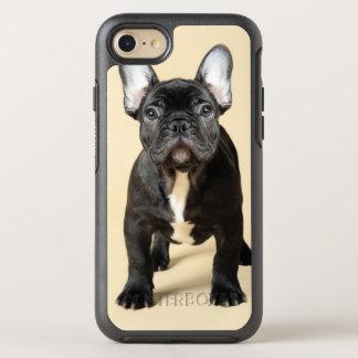 Studio portrait of French bulldog puppy standing OtterBox Symmetry iPhone 7 Case