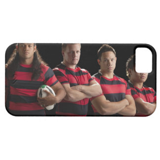 Studio portrait of male rugby team case for the iPhone 5