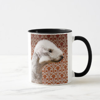 Studio shot of Bedlington Terrier Mug
