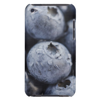 Studio shot of blueberries 2 barely there iPod cases