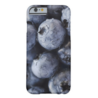 Studio shot of blueberries 3 barely there iPhone 6 case