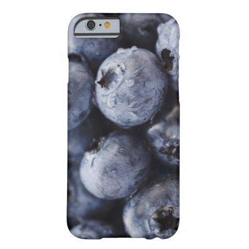 Studio shot of blueberries 3 iPhone 6 case