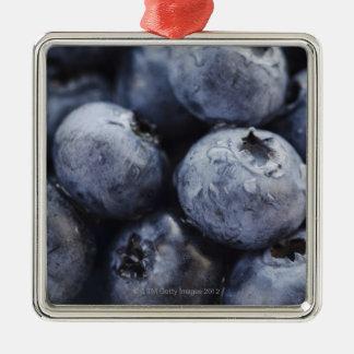 Studio shot of blueberries 3 ornaments
