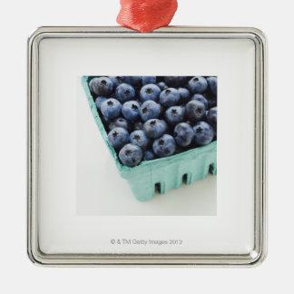 Studio shot of blueberries ornament